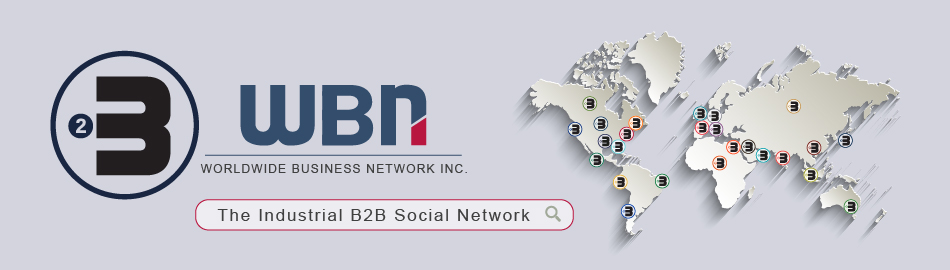 WBN the Industrial B2B Social Network, bases in Miami Florida US, offers in few clicks, to find the right industrial partner, growing fast, in the most competitive markets. For twenthie century industries was obligatory to exhibit at fairs to find new distributors and customers, expending minimum twenty twousand American dollars per each exhibition. WBN offers to create your own Global Distribution Network from your office and facilities... We are the biggest trade show in the world… and never closes